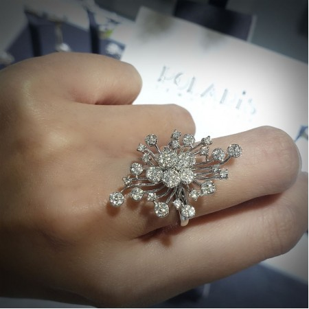 14KT Diamond Ring ❥ 2019 Event List: . VICENZAORO JEWELLERY BOUTIQUE Sept 7 ~ 11 @vicenzaoro Intl Hall 3.1 #145 .  HK September Jewellery & Gem Fair Sept 18 ~ 22 @HKCEC Booth#1C523 . HK International Jewellery Mfgr Show 2018 Nov 28 ~Dec 1 @HKCEC Booth# 1AD6 . ❥Goldsmith - Wholesale - Jewellery design - Product development . ❥Contact us for an appointment. (852)2252-3388 info@polarisjew.com . #polarisjew #jewelry #jewelrymaking #jewelrydesign #jewelryphotography #igjewelry #picoftheday  #jewelryoftheday #diamonds #jewelryfair #tradeshow #jewellers #iglife #instadaily #instalike #instagood #igers #igplaces #exhibition
