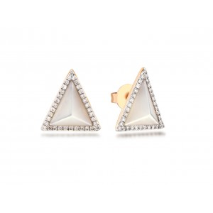 14KR TRIANGLE STUDS ...
