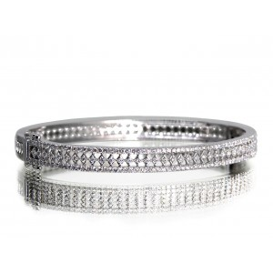 14KW LACE BANGLE W/ ...