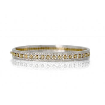 14WY BEZEL BANGLE W/...