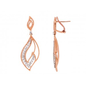14KR BEAD EARRINGS W...