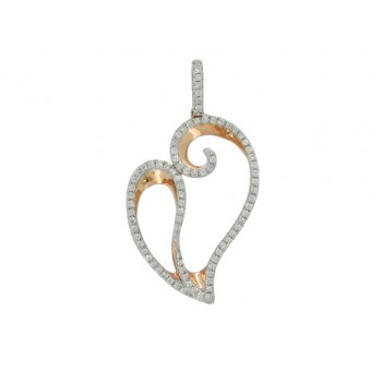 14KR HEART NECKLACE ...